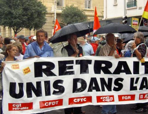 Mobilisation des retraité·e·s le vendredi 1er octobre 2021 !