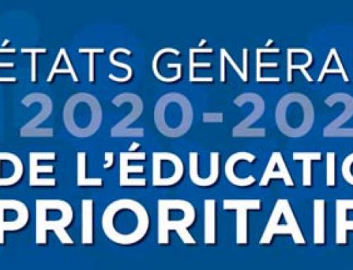 Les États Généraux de l'Éducation Prioritaire