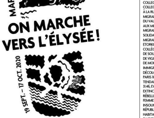 Marche des solidarités pour les sans-papiers – samedi 10 et 17 octobre 2020