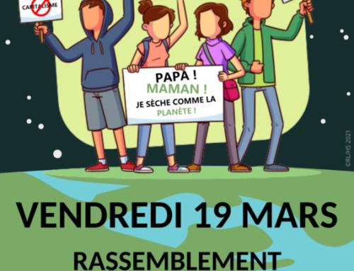 Grève pour le climat – vendredi 19 mars 2021 à Rouen