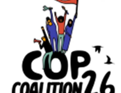 Marche pour le climat le samedi 6 novembre 2021 !
